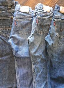 Levis and Wrangler jeans bundle